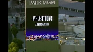 Strip properties remind us to stay Vegas Strong