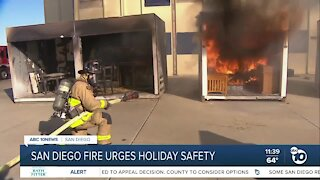 City fire officials urge holiday safety