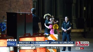 Protest to Remember James Scurlock