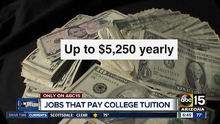Jobs paying college tuition