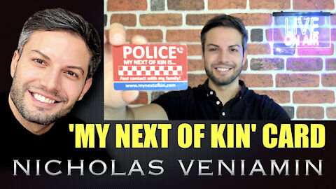 Next Of Kin Card Discussed By Nicholas Veniamin