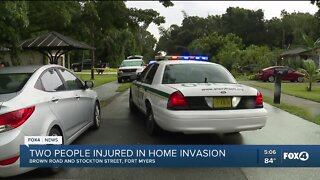 Two people injured in North Fort Myers home invasion