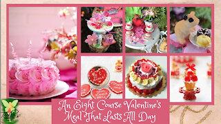 Teelie's Fairy Garden | An Eight Course Valentine's Meal That Lasts All Day |Teelie Turner
