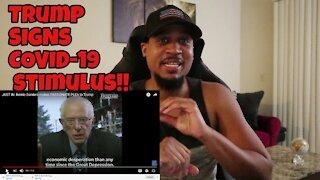 BREAKING: Trump Signs COVID Relief Bill After Bernie Sanders Plea!?
