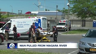 Man rescued from Niagara River