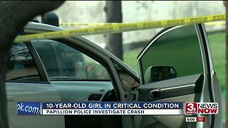 10-year-old girl in critical condition