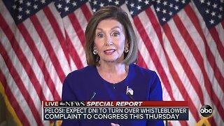 Speaker of the House Nancy Pelosi announces formal impeachment inquiry