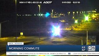 Pedestrian hit, killed along I-17
