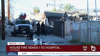 One killed in East San Diego house fire