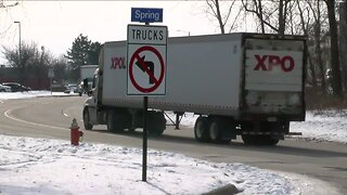 Truck traffic in Cleveland's Old Brooklyn neighborhood has become a sore subject for residents