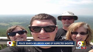 Police search Bellbrook home of accused shooter