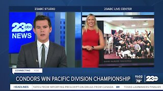 23ABC Sports: Condors clinch Pacific Division, defeating Henderson 3-2 in Game 3