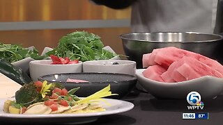 Recipe for nutty watermelon salad from Harvest Seasonal Grill