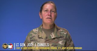 U.S. Army Reserve Holiday COVID Safety
