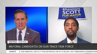 Baltimore City mayoral candidates on gun trace task force