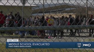 Punta Gorda school evacuated