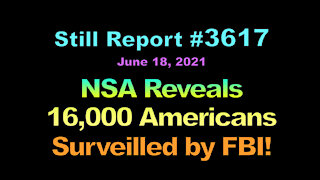 NSA Reveals 16,000 Americans Surveilled by FBI, 3617