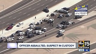 Chase on Loop 202 ends with suspect in custody