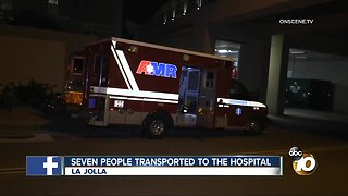 7 people at UCSD transported to the hospital for alcohol poisoning