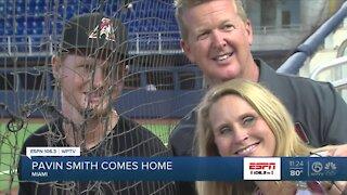 Pavin Smith makes South Florida debut