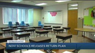 Novi schools releases return plan