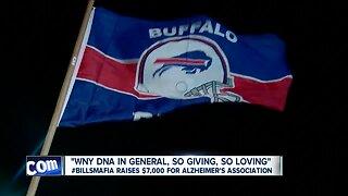 Bills Mafia raises more than $7,000 for Alzheimer's Association