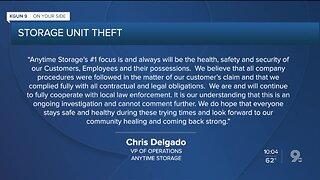 Storage Unit Theft