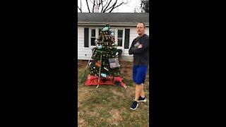 2020 Christmas Tree Pranked