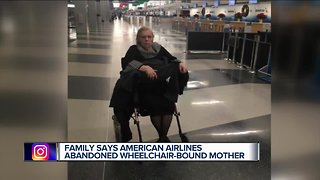 Metro Detroit woman in wheelchair left at Chicago airport after flight canceled