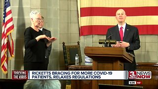 Ricketts bracing for more COVID-19 patients, relaxes regulations