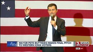 Mayor Pete Buttigieg Makes Final Pitch to Western Iowa Voters