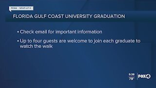 FGCU graduation announced