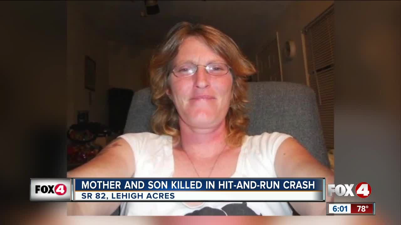 Mother and son killed in hit-and-run crash