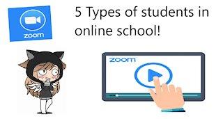 5 Types of students in online school!
