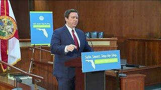 FULL NEWS CONFERENCE: Gov. Ron DeSantis announces Florida's reopening plan
