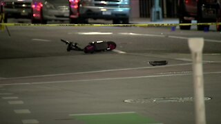 Scooter rider killed in hit-and-run crash early Monday in downtown Denver identified