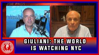 Rudy Giuliani: The World is Watching NYC
