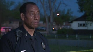 Denver police provide update after officer shoots, injures man threatening officers with a knife
