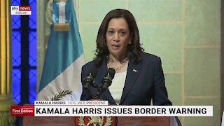 Kamala echoing Trump on Mexico border?