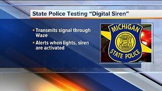 Michigan State Police testing new digital siren to help alert drivers