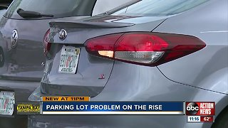 Parking lot problems on the rise