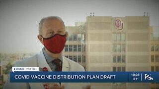 Oklahoma releases draft of COVID-19 vaccine distribution plan