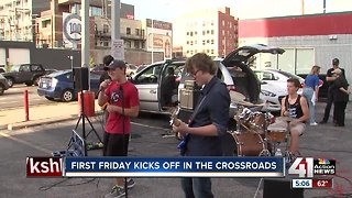 First Friday kicks off in the Crossroads