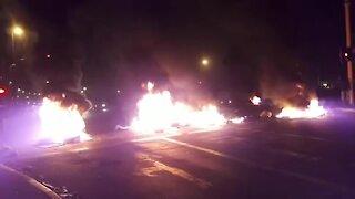 SOUTH AFRICA - Cape Town - Khayelitsha Shutdown Protest (Video) (znk)