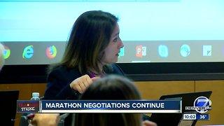 Denver teacher strike: Marathon negotiations continue