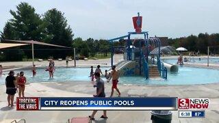 City reopens public pools