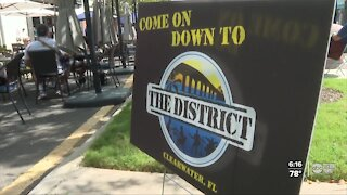 """Clearwater's downtown Cleveland Street relaunches as """"The District"""""""