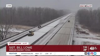 MSHP snow operations update