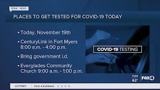 Coronavirus testing in Southwest Florida
