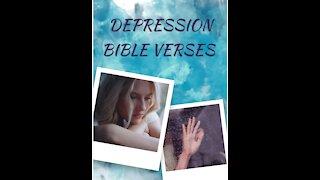 6 Bible verses for DEPRESSION // Scriptures for Depression// Depression Motivation 8 #shorts